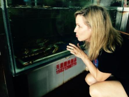 Melissa has crabs